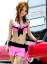 Larger frill bikini & mini skirt 3-piece set ♪ ◎ order today will ship 5/18