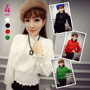 High neck WestLB and Bishop sleeve, long sleeve shirt blouse top s Party elegant ◎ order today 1/30 will ship