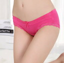 Simple plain women's shorts and lace with Ribbon, inner, underwear, standard ladies ◎ order today will ship 1/5
