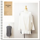 Check switch & adult long sleeve tunic tops & tuck balloon natural ◎ order today will ship 4/23