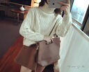 Nit so long sleeve Womens sweater tertlenecknitsaw cable knit Dolman loose girly long sleeved nit so long-sleeved sweater ◎ order today will ship 6/26