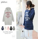 Parka Womens one piece logo with long trainer pullover sweatshirts Romare room wear ladies ◎ order today will ship 4/15