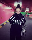 Loose long sleeve trainer tops sweatshirts women's autumn-winter monotone adult mode MODE black, relaxed casual ◎ order today will ship 5/7