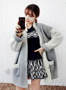 Short coat blouson jackets outerwear women's BOA style material stand collar by color scheme simple loose gray ◎ order today will ship 5/7
