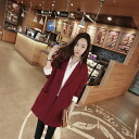 Tailored jacket women's outerwear half-court Chester coat outerwear middle length medium-length simple plain loose silhouette ◎ order today will ship 3/5