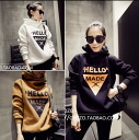 Pullover women's hoodies sweatshirts hood tops trainer Plover Parker logo print dance long sleeve: order today will ship 7/7