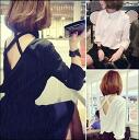 Long-sleeved shirt / blouse