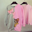 Trainer long sleeves women's back zipper crewneck boatneck tops sweatshirts Romare room wearing casual ◎ order today will ship 7/3