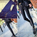 Denim women's jeans jeans legging skinny button bottoms slim long pants straight selenge celebrity ◎ order today will ship 3/26
