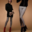 9 minutes-length leggings General organiccotton houndstooth check stretch material monotone bottoms spat pants printed pattern legs ◎ order today will ship 6/8
