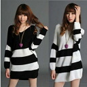 Netsortunic V neck border long sleeve casual monotone hold women's sense of rough-hewn pendants deformation • order today 6/11 will ship