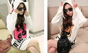 Trainer women's long sleeve hoodies pullover hooded long-length tops CUTE sweatshirts casual Romare gown ◎ order today will ship 5/11