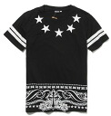 Silhouette men and women cum for logo letters casual street sports pattern print black and white, loose short-sleeved T shirt ladies mens Dancewear ◎ order today will ship 5/12