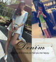 Denim shorts women's denim Chopin adult basic simple hotpants fringe damage processing casual ◎ order today will ship 8/4
