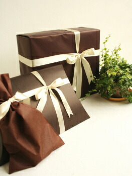 * gift wrapping * sample *