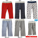 Miki House ☆ ☆ Every Day mikihouse ☆ pattern print pants (80 cm and 90 cm, 100 cm, 110 cm, 120 cm, 130 cm) [11-3204-951]