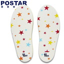 POSTAR (poster) ☆ made in Japan and Made in Japan ☆ children's Orthotics / insoles ( 13 cm and 19 cm target ) 6211-23