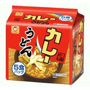 東洋水産マルちゃんカレーうどん甘口5食×6入