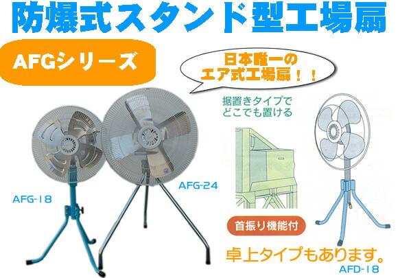 スタンド型送風機AFGシリーズ