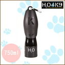 Pet water tube / H2O4K9 750ml black /ROOKCRAN Luca dicorso / 5,000 yen or more in /