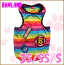 Emyland / boys Rainbow tank 2161 / 3S/SS/S / EMI land //5000 yen or more in /P27Mar15 / / dog clothing for spring summer tank top/patch/colorful/smile / /
