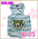 Emyland and Kuma-CHAN's marine border tank 2165 / M / DS / Emmy land / and more than 5000 Yen / / dog clothing for spring summer / / tank top/borders / bear / bare.