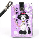 Chichi New York poodle mobile pouch [CO1224S11LP] (iPhone compatible)