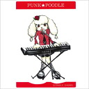 Small original PUNK ★ POODLE sticker (keyboards)