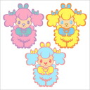 Ribbon poodle sticker