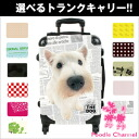 THE DOG customized carry bag West Highland White Terrier dog / poodle / carry case / carts / trunk case / travel bags / toy
