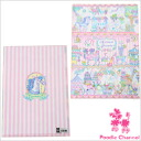 ECONECO (econeko) clear file animal parade poodles / poodle / gadgets / stationery / files/A4 / kitten pictures
