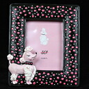 Poodle Photo frame C type poodle / gadgets / figurines / toy / dogs / dog
