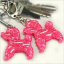 キューティーラメプードル key ring poodle / gadgets / key chain / Keyring / Keychain / accessories / toy / dog / dog