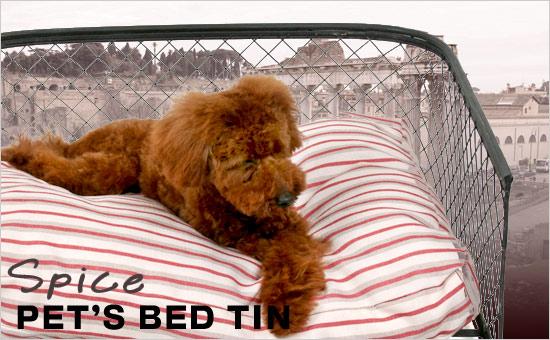 [ペットベッド] PET'S BED TIN