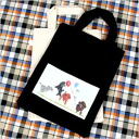 Yamamoto Yoko A4 Tote 12 poodle who play with balloons