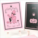 Fluff ( fluff ) ( Birthday ) greeting card Snooty Poodle