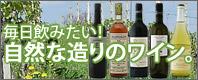 毎日飲みたい!自然な造りのワイン。