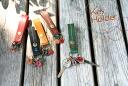 Japlish leather key holder [3 business days] 【kg11】