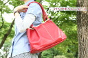 Porco Rosso/japlish leather tote bag (L)
