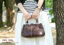Leather mini tote bag made by Japanese craftman[nouki2]【fs01gm】