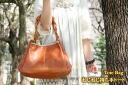 Porco Rosso/japlish leather tote bag