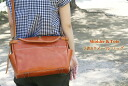 Porco Rosso/japlish leather 2way bag (M)