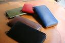 TIDE WAY cordovan leather wallet