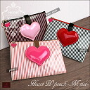 Mother and child Handbook case POUCHE (pace) heart W pouch / М size