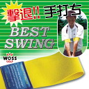 Golf practice equipment home in practice with the definitive WOSS and Woz swing belt (for both left and right) PB-001