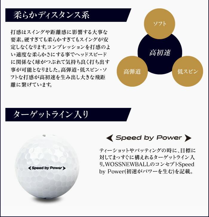 ターゲットライン入り Speed by Power