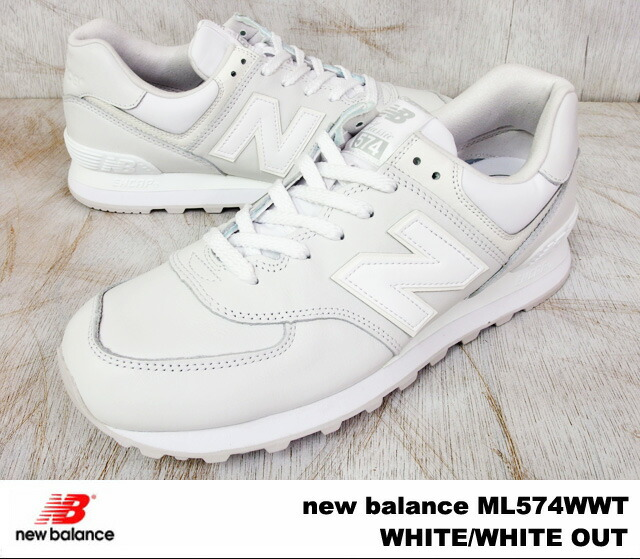white new balance 574 men