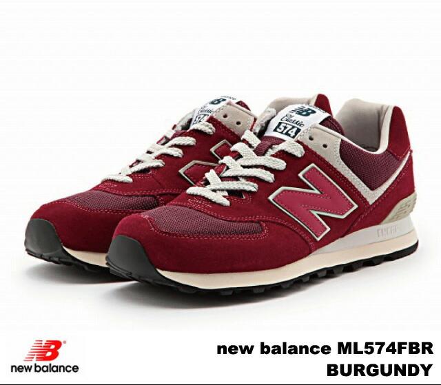 burgundy new balance women sneakers