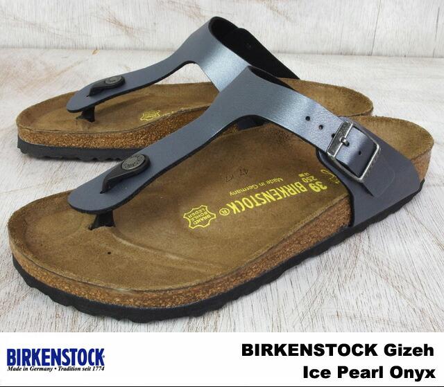 birkenstock gizeh ice pearl