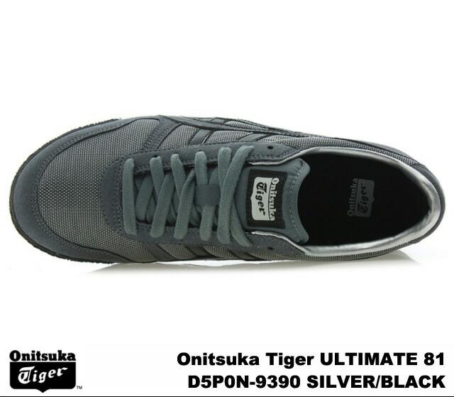 onitsuka tiger ultimate 81 black silver